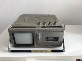 Televisión radio cassette para coleccionistas