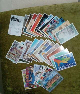 Tarjetas postales España.