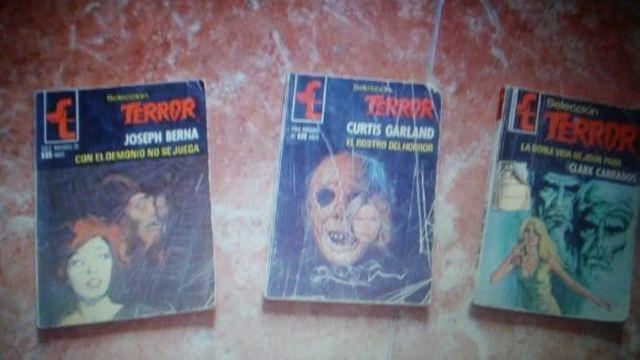Novelas de terror antiguas
