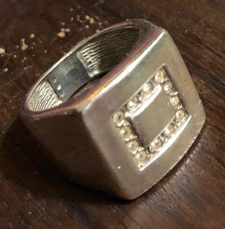 Sortija anillo plata circonitas