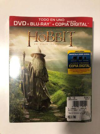 El Hobbit DVD + BR + Copia Digital
