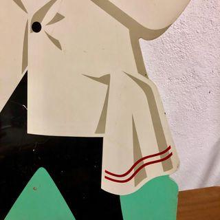 Cartel vintage cocacola