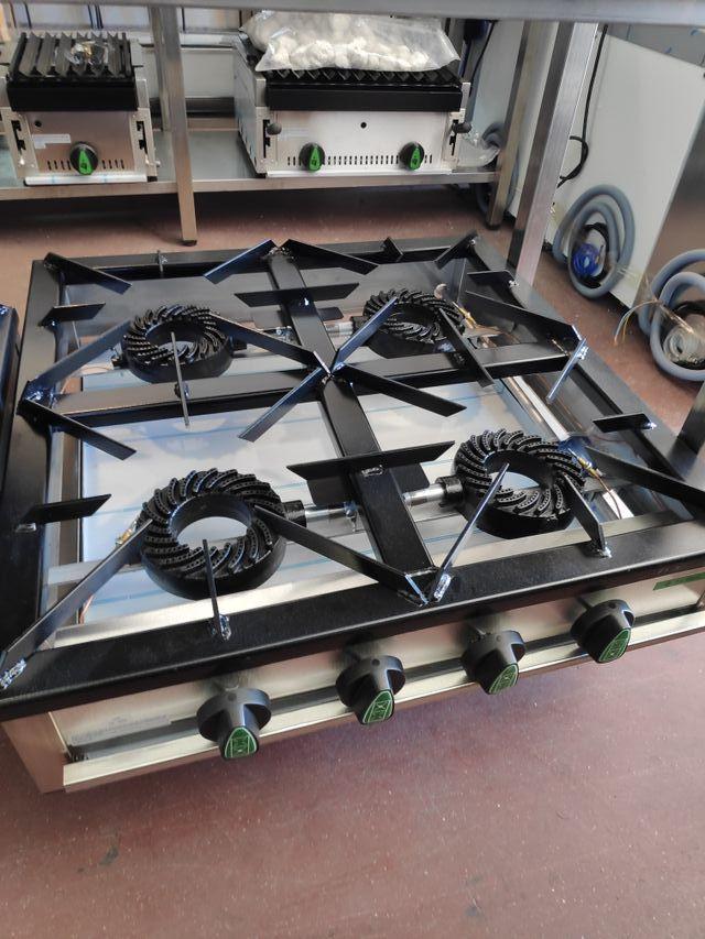 Cocina gas 4 fogones sobremesa de segunda mano por 595 - Fogones a gas ...