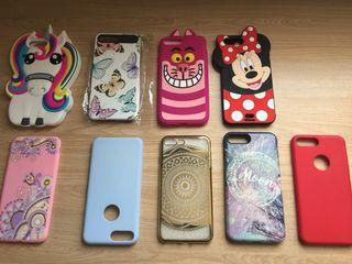 Lote completo de fundas Iphone 7plus