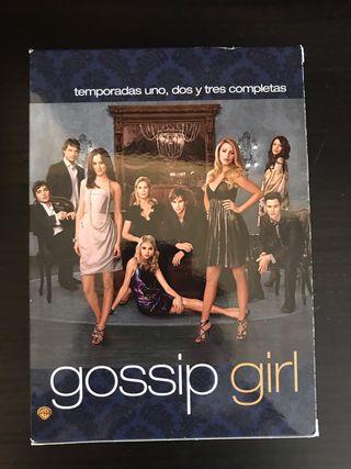 Serie Gossip girl. Tres temporadas completas.