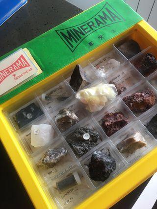 Colección de minerales. MINERAMA