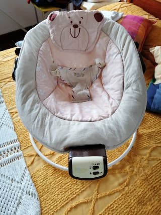 Hamaca Bruin Naturals, bebé, balancín
