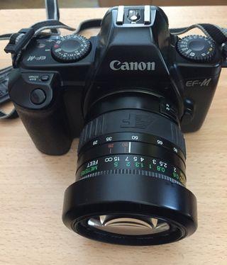 Cámara fotográfica y objetivo (juntos o separados)
