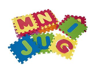 Puzzle Gomaespuma Alfabeto