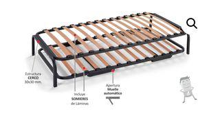 Cama nido estructura de segunda mano por 50 en barakaldo for Estructura cama nido 105