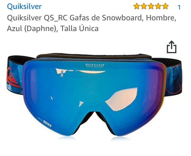 82a9611358 Gafas Snow QuickSilver a estrenar ! de segunda mano por 95 € en ...