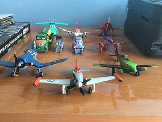 Set 10 die cast De Aviones Disney