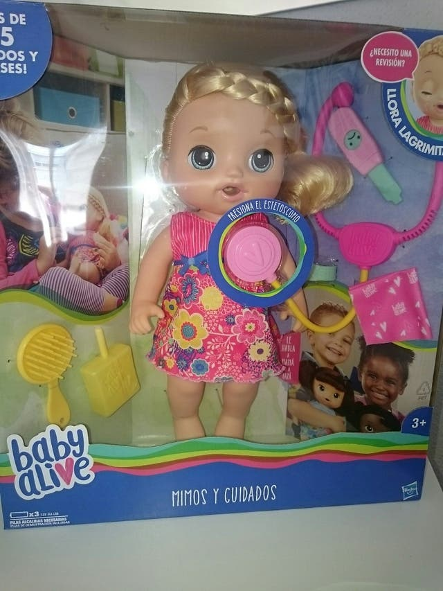 2fa44d0007 Muñeca baby alive mimos y cuidados NUEVA de segunda mano por 33 € en ...