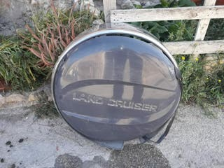 Cubierta rueda repuesto Toyota Land Cruiser