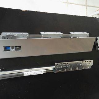 Guías correderas de cajón más laterales 420mm.