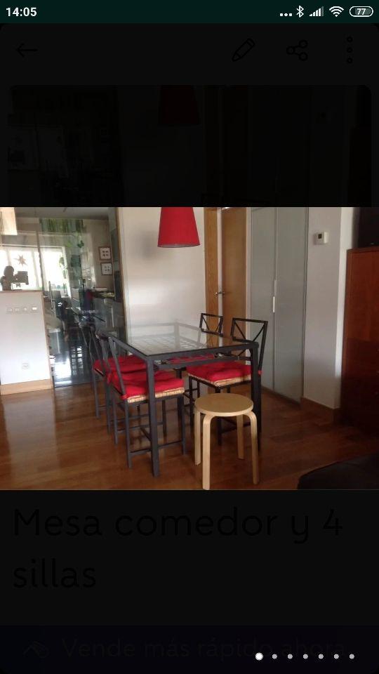 Mesa y sillas comedor ikea de segunda mano por 100 € en ...