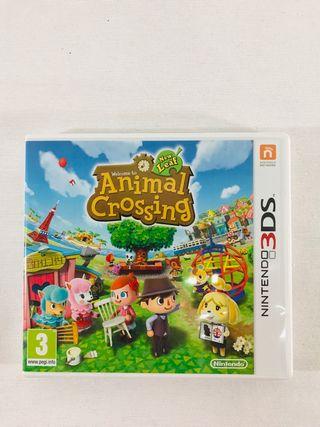 ANIMAL CROSSING NINTENDO- 3DS.