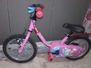 Bicicleta niña 4-5 años
