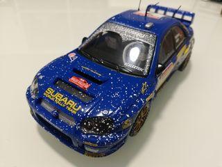Subaru Impreza WRC Scalextric solberg