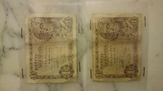 2 billetes 1 pts 1948