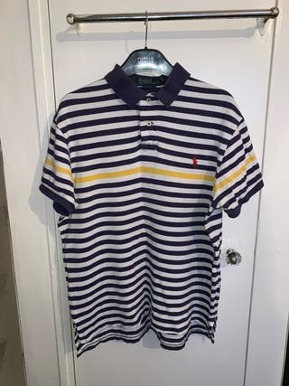 Ralph Lauren Polo Shirt Size Medium / striped