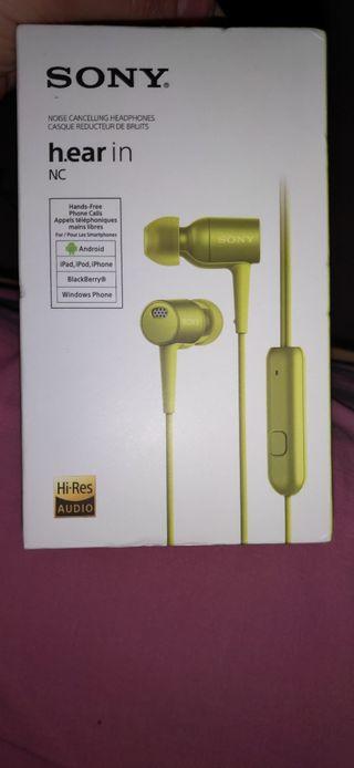 auriculares sony hi res audio co cancelación ruido