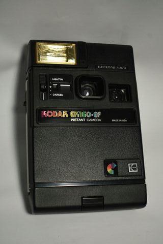 Cámara instantánea Kodak EK 160 EF vintage