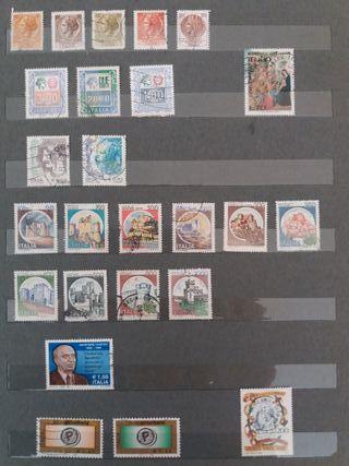 25 sellos de ITALIA