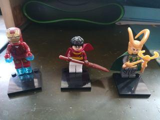 LEGO lote figuras
