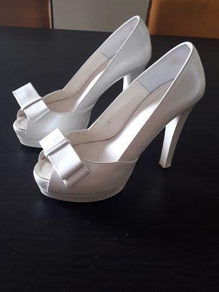 zapatos de novia de segunda mano en vigo en wallapop
