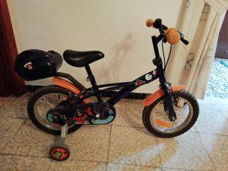 bicicleta de 4años de niño