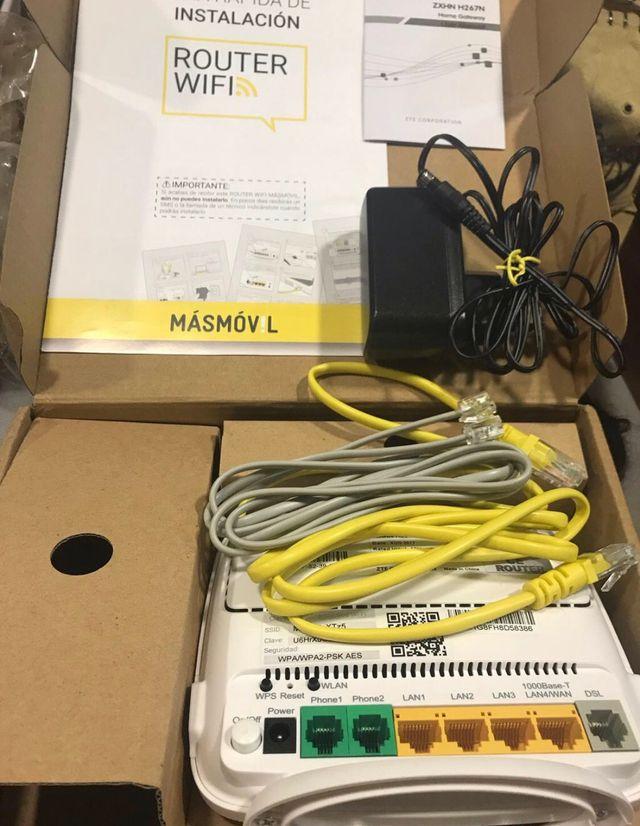 Amplificador wifi y modem