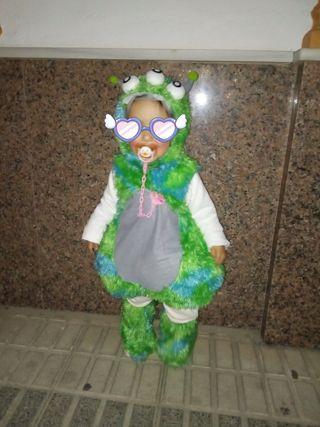 disfraz monstruito bebé