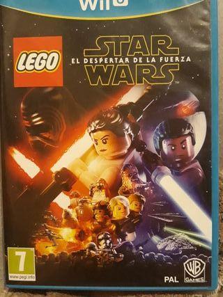 wii-U Star Wars el despertar de la fuerza