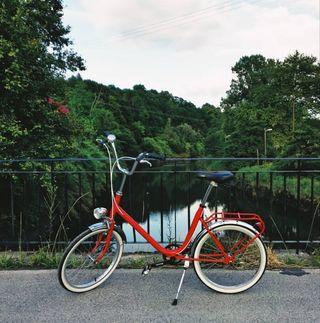 Bicicleta orbea tipo BH clásica restaurada