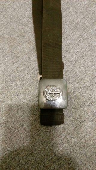 cinturón militar
