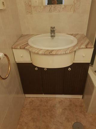 mueble de baño 85 cm