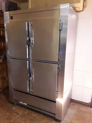 Camara frigorífica inox profesional alimentación.