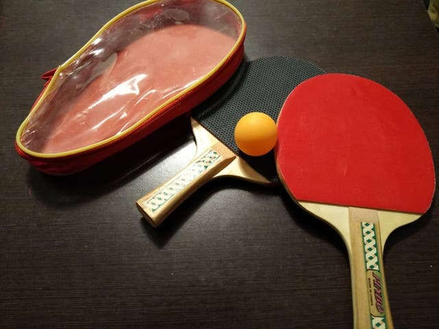 Juego paleta ping-pong