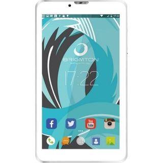 """Tablet Brigmton 7"""" Hd Ips 3G Btpc-Ph6 Qc Dsim Blan"""