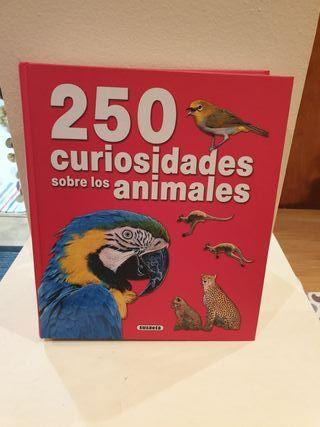Libro de 250 curiosidades sobre animales