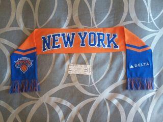 Bufanda de los New York Knicks