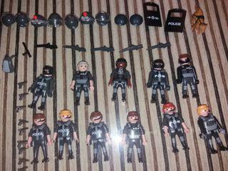 pack de Playmobil policias
