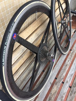 ruedas de carbono SPINERGY rev x