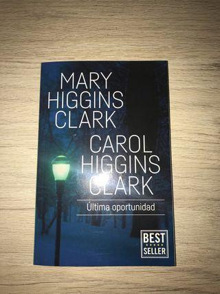 Libro Última Oportunidad Mary Higgings