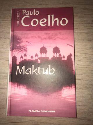 Libro Maktub Paulo Coelho