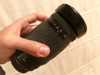 Objetivo zoom Vivitar 28-300 mm