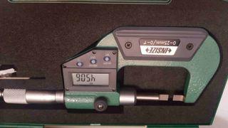 PALMER MARCA INSIZE 0-25 mm PUNTAS PLANAS