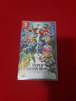 Super smash bros Nintendo switch precintado
