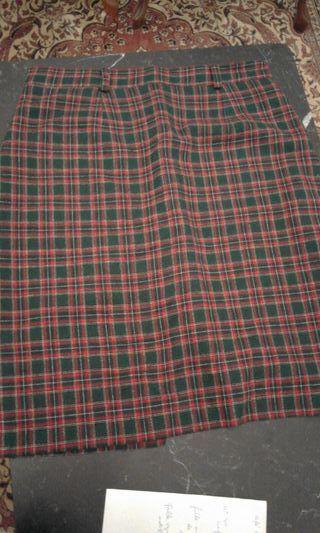 749e1817bf Falda escocesa de segunda mano en la provincia de Vizcaya en WALLAPOP